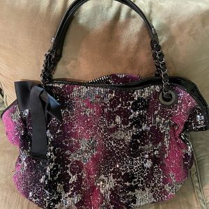 Betsey Johnson Large Hobo Handbag